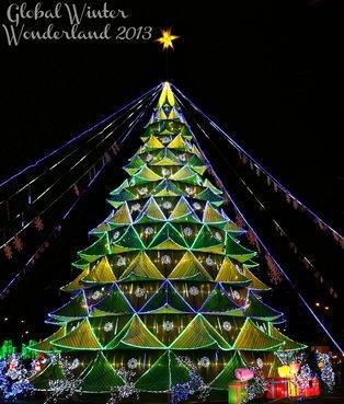 Atlanta Santa in Parade and at Lightings